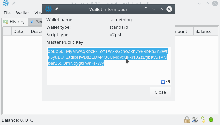 Creating a watch-only wallet – Bitcoin Electrum