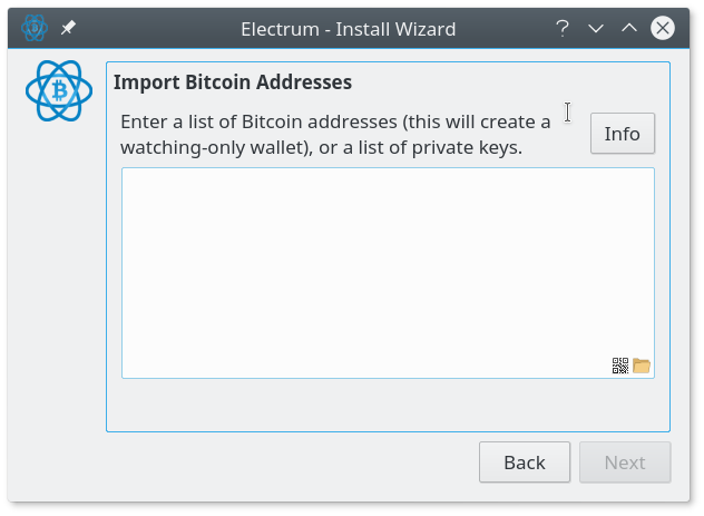 Enter One Private Key Per Line Electrum Supports Mini Keys And Full Sized In Wallet Import Format WIF